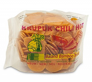 Garnele Crackers chili & hot 2x3cm 250gr