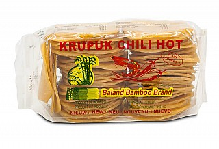 Garnele Crackers chili & hot 5x7cm 500gr